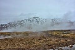 γεωθερμικός ατμός στοκ εικόνα με δικαίωμα ελεύθερης χρήσης