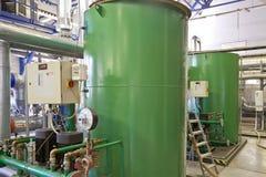 Γεωθερμικό σύστημα θέρμανσης Στοκ φωτογραφία με δικαίωμα ελεύθερης χρήσης