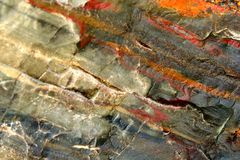 γεωλογική πέτρα Στοκ Εικόνες