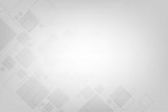Γεωμετρία στην έννοια τεχνολογίας σε ένα γκρίζο υπόβαθρο Στοκ φωτογραφία με δικαίωμα ελεύθερης χρήσης