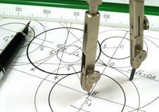 γεωμετρία Στοκ Εικόνα