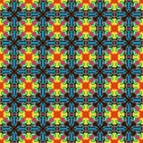 Γεωμετρία 4 Vector_pattern Στοκ Εικόνα