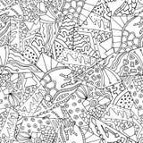 Γεωμετρία 3 Zentangle Στοκ Φωτογραφία