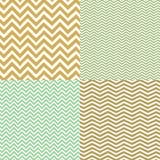 Γεωμετρικά άνευ ραφής σχέδια σιριτιών καθορισμένα Στοκ Εικόνες