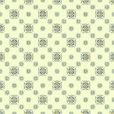 Γεωμετρικά αντικείμενα σε ένα ελαφρύ άνευ ραφής σχέδιο υποβάθρου Στοκ Εικόνα