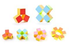 γεωμετρικά αστέρια Στοκ Φωτογραφίες