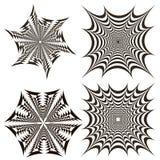 Γεωμετρικά fractals Στοκ εικόνες με δικαίωμα ελεύθερης χρήσης