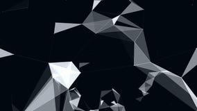 Γεωμετρικές αφαίρεση και κίνηση των μορίων διανυσματική απεικόνιση