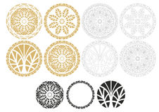 γεωμετρικές διακοσμήσεις Στοκ Φωτογραφίες
