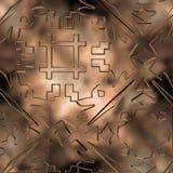 Γεωμετρικές μορφές στο υπόβαθρο Στοκ Εικόνες