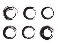 Γεωμετρικές περιπλεγμένες κύκλος ρόδες Επιχειρησιακό αφηρημένο εικονίδιο Σαν σημάδι, σύμβολο, λογότυπο, Ιστός, ετικέτα Στοκ φωτογραφία με δικαίωμα ελεύθερης χρήσης