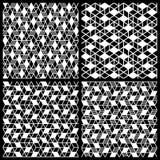 Γεωμετρική άνευ ραφής ανασκόπηση προτύπων Στοκ φωτογραφία με δικαίωμα ελεύθερης χρήσης