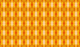 Γεωμετρική άνευ ραφής αφηρημένη διακόσμηση σε κίτρινος-καυτό colors_ στοκ εικόνα