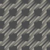 γεωμετρική άνευ ραφής σύσ&ta Αφηρημένο ατελείωτο υπόβαθρο λωρίδων Στοκ Εικόνες