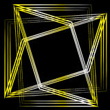 Γεωμετρική αστρολογία αστεριών εικονιδίων σχεδίων καθορισμένη pentagram Στοκ Φωτογραφία