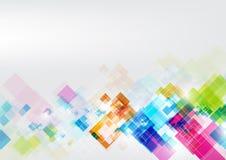 Γεωμετρική αφηρημένη απεικόνιση σχεδίου υποβάθρου γραφική Στοκ Εικόνες