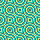 Γεωμετρικό άνευ ραφής σχέδιο Στοκ Εικόνα