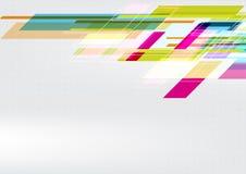 Γεωμετρική διανυσματική αφηρημένη απεικόνιση σχεδίου υποβάθρου γραφική Στοκ Φωτογραφίες