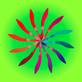 Γεωμετρική μάνδρα 2 Στοκ Φωτογραφίες
