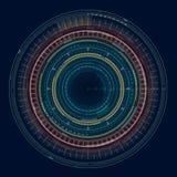 Γεωμετρική μορφή 4 Διανυσματική απεικόνιση