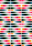 Γεωμετρική ριγωτή ανασκόπηση Στοκ εικόνες με δικαίωμα ελεύθερης χρήσης