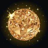 Γεωμετρική σφαίρα Disco διανυσματική απεικόνιση