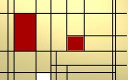 Γεωμετρική σύνθεση πέρα από το φωτεινό backlight Στοκ φωτογραφία με δικαίωμα ελεύθερης χρήσης