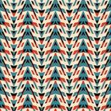 Γεωμετρική τυπωμένη ύλη Στοκ εικόνα με δικαίωμα ελεύθερης χρήσης