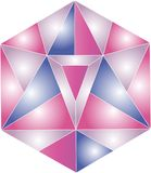 Γεωμετρική ψηφιακή απεικόνιση λογότυπων Στοκ εικόνα με δικαίωμα ελεύθερης χρήσης