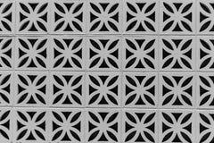 Γεωμετρικοί φραγμοί τσιμέντου Στοκ Φωτογραφία