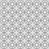 γεωμετρικός άνευ ραφής α&nu αραβικό πρότυπο Στοκ Εικόνες