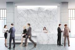 Γεωμετρικός μετρητής υποδοχής σχεδίων, άνθρωποι Στοκ Εικόνες