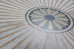 γεωμετρικός παλαιός τρύγος εγγράφου διακοσμήσεων ανασκόπησης Στοκ Φωτογραφίες