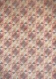 γεωμετρικός παλαιός τρύγος εγγράφου διακοσμήσεων ανασκόπησης Στοκ φωτογραφίες με δικαίωμα ελεύθερης χρήσης