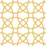 Γεωμετρικός στρογγυλός κύκλος άνευ ραφής Bakground Στοκ Εικόνες