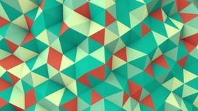 Γεωμετρικός τρισδιάστατος δίνει τη polygonal επιφάνεια την άνευ ραφής ζωτικότητα βρόχων ελεύθερη απεικόνιση δικαιώματος