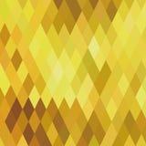 γεωμετρικός χρυσός ανασκόπησης Στοκ Φωτογραφίες