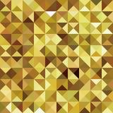 γεωμετρικός χρυσός ανασκόπησης Στοκ φωτογραφίες με δικαίωμα ελεύθερης χρήσης