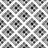 Γεωμετρικό άνευ ραφής διάνυσμα υποβάθρου σχεδίων τετραγώνων Στοκ φωτογραφίες με δικαίωμα ελεύθερης χρήσης
