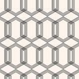 Γεωμετρικό άνευ ραφής σχέδιο deco τέχνης Διανυσματική ανασκόπηση στοκ εικόνα με δικαίωμα ελεύθερης χρήσης