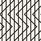 Γεωμετρικό άνευ ραφής σχέδιο γραμμών τρεκλίσματος Στοκ Εικόνες
