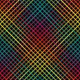 Γεωμετρικό άνευ ραφής σχέδιο με τις διαγώνιες γραμμές Στοκ Εικόνες