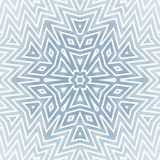 Γεωμετρικό αστέρι ή Snowflake Στοκ φωτογραφία με δικαίωμα ελεύθερης χρήσης