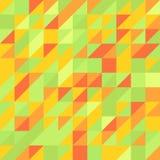 Γεωμετρικό αφηρημένο άνευ ραφής σχέδιο ζωηρόχρωμο ελεύθερη απεικόνιση δικαιώματος