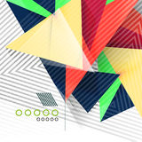 Γεωμετρικό αφηρημένο υπόβαθρο μορφών Στοκ φωτογραφίες με δικαίωμα ελεύθερης χρήσης