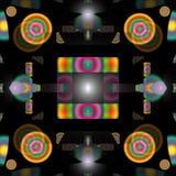 Γεωμετρικό αφηρημένο υπόβαθρο σχεδίων χρώματος Στοκ εικόνα με δικαίωμα ελεύθερης χρήσης
