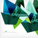 Γεωμετρικό αφηρημένο φουτουριστικό υπόβαθρο μορφής διανυσματική απεικόνιση