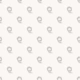 Γεωμετρικό γκρίζο απλό άνευ ραφής αφηρημένο σχέδιο Στοκ Εικόνες