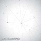 Γεωμετρικό γκρίζο μόριο υποβάθρου και απεικόνιση αποθεμάτων