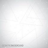 Γεωμετρικό γκρίζο μόριο υποβάθρου και ελεύθερη απεικόνιση δικαιώματος
